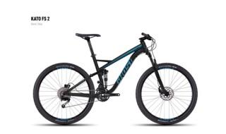 Ghost Ghost Kato FS 2 black/blue S 2016 von Radsport Dashuber, 84518 Garching