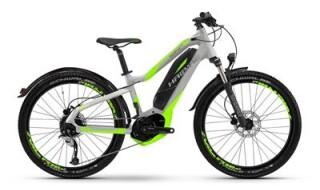 Haibike Sduro HardFour LIfe St 4.5 silber-neon 2017 von Fahrrad Imle, 74321 Bietigheim-Bissingen