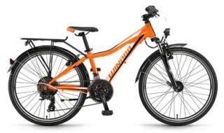 Winora Dash 24 (Orange-Weiss-Schwarz) von Fahrradladen Rückenwind GmbH, 61169 Friedberg (Hessen)