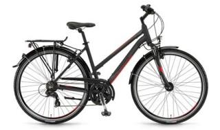 Winora Santiago Trapez schwarz-grau-rot matt von Bike & Co Hobbymarkt Georg Müller e.K., 26624 Südbrookmerland