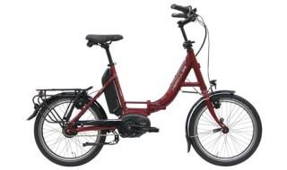 """Hercules Rob Fold R8 20"""" Faltrad rot-glänzend Vorführrad von Fahrrad Imle, 74321 Bietigheim-Bissingen"""