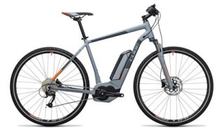 Cube Cube Cross Hybrid ONE 400 grey´n´orange 2017 58 cm von bikeschmiede-Ahl, 63628 Bad Soden Salmünster