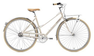 Creme Cycles cafe racer solo Lady 7G von Weiss Rad + Service, 50678 Köln