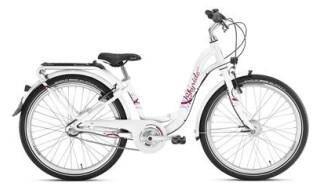 Puky Skyride 24-7 Alu weiss-berry von Fahrrad Wunner, 96199 Zapfendorf