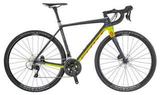 Scott Addict Gravel Disc 30 anthracite/yellow/red von Schulz GmbH, 77955 Ettenheim