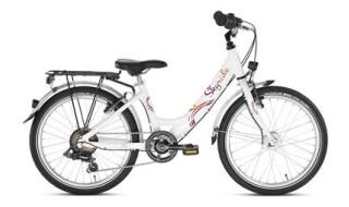Puky Kinderfahrrad Skyride 20 Zoll 6-Gang Alu (Weiß-Pink) von Fahrradladen Rückenwind GmbH, 61169 Friedberg (Hessen)