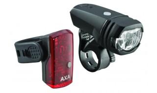 AXA Batterie-Beleuchtungsset von Prepernau Fahrradfachmarkt, 17389 Anklam