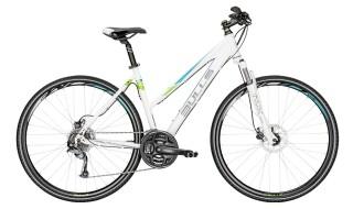 Bulls Cross Bike 1 Damen Trapez weiß-grün von 2-Rad Esser GmbH & Co. KG, 97941 Tauberbischofsheim