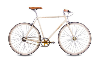 Chrisson FGS CrMo Gent 2S Kick Shift Sturmey Archer creme gold von Just Bikes, 10627 Berlin