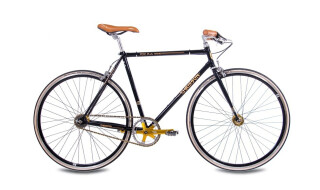 Chrisson FGS CrMo Gent 2S Kick Shift Sturmey Archer schwarz gold von Just Bikes, 10627 Berlin