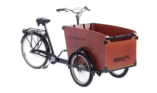 Babboe  Big - DAS Holz-Lastenrad von Herrmanns  Radhaus 2 GmbH, 64546 Mörfelden-Walldorf