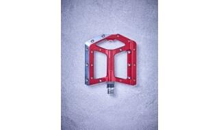 Cube Cube Flat Pedals Slasher, rot von Fahrrad Imle, 74321 Bietigheim-Bissingen