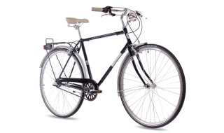 Chrisson VINTAGE CITY GENT 3G SHIMANO NEXUS black glossy von Just Bikes, 10627 Berlin