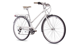 Chrisson VINTAGE CITY LADY 6G SHIMANO white glossy von Just Bikes, 10627 Berlin