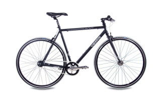 Chrisson VINTAGE ROAD S2  2G SRAM AUTOMATIX schwarz matt von Just Bikes, 10627 Berlin