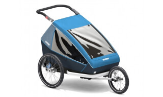 Croozer Croozer Kid Plus for 2 blau von Rad Dimension, 33014 Bad Driburg
