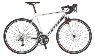 Scott Speedster 40 weiß-schwarz von 2-Rad Esser GmbH & Co. KG, 97941 Tauberbischofsheim