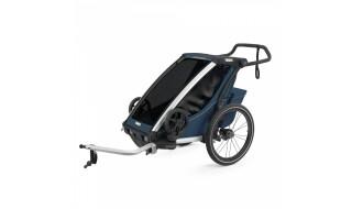 Thule Chariot Thule Chariot Cross 1 - Thule Blue (2020) incl. Versand von Fahrradwelt International, 52441 Linnich