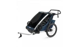 Thule Chariot Thule Chariot Cross 2 - Thule Blue (2020) incl. Versand von Fahrradwelt International, 52441 Linnich