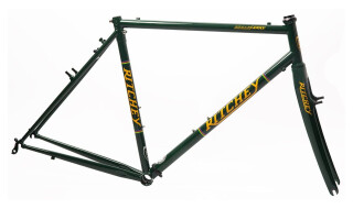 Ritchey Break-Away Cross Frameset british racing green-yellow von Just Bikes, 10627 Berlin