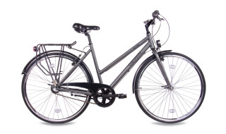 Chrisson City One Damenrad 3G Shimano Nexus anthrazit matt von Just Bikes, 10627 Berlin