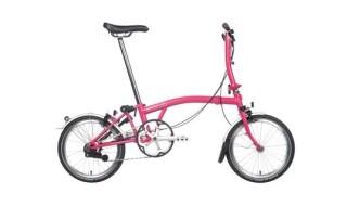 Brompton M3LD Hot Pink von Velo Voss GmbH, 37073 Göttingen