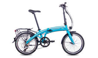 Chrisson EF1 8G ACERA & BAFANG GENERATION 2 8,7AH light blue von Just Bikes, 10627 Berlin