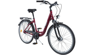 BBF Damen- LID rot 7Gang von Prepernau Fahrradfachmarkt, 17389 Anklam