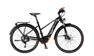 "KTM Power Sport 11+ Trapez E-Bike 28"" Schwarz-Orange 11-Gang Modell 2019 von Fun Bikes, 53175 Bonn (Friesdorf)"