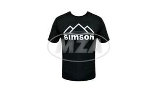 Simson T-Shirt Simson-Berge von Prepernau Fahrradfachmarkt, 17389 Anklam