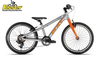 Puky S-Pro 20-7 Alu silber-matt-orange von 2-Rad Esser GmbH & Co. KG, 97941 Tauberbischofsheim