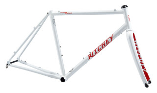 Ritchey Swiss Cross Disc V2 Frameset 2020 white/red Logo von Just Bikes, 10627 Berlin