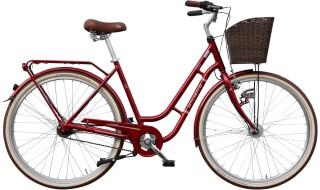 Atlanta Chic 28 VR-Korb (Rot) von Fahrradladen Rückenwind GmbH, 61169 Friedberg (Hessen)