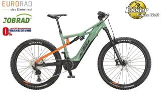 KTM Macina Kapoho 2972 grün-orange von 2-Rad Esser GmbH & Co. KG, 97941 Tauberbischofsheim