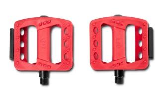 Cube Pedale Flat HQP CMPT rot von Zweirad Bruckner GmbH, 92421 Schwandorf