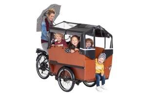 Babboe  Big-E, 450Wh, für bis zu 4 Kinder. von Henco GmbH & Co. KG, 26655 Westerstede
