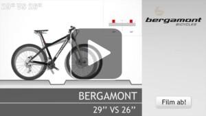 Bergamont 29Zoll vs 26Zoll