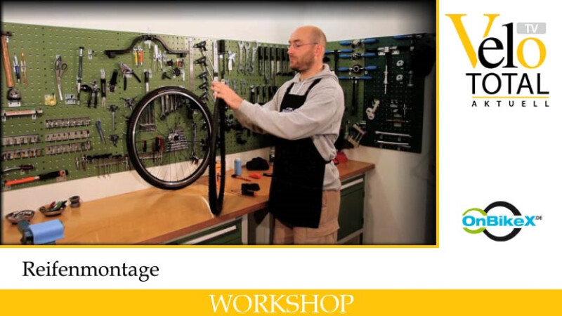 VeloTotal 7: Workshop Reifenmontage