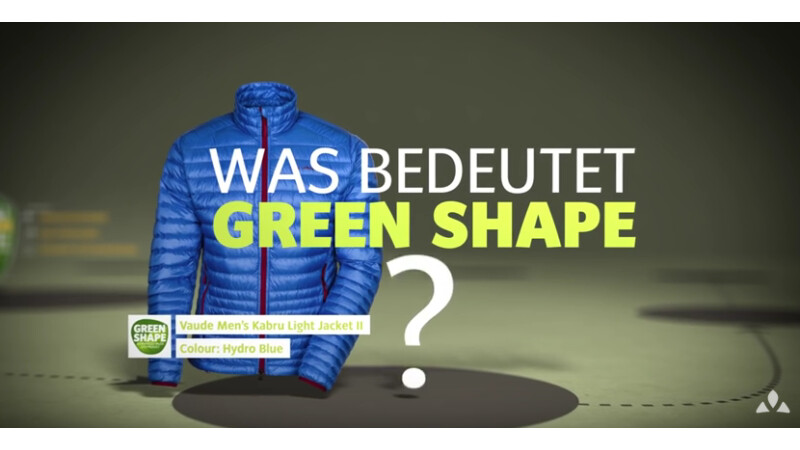 VAUDE - Produktphilosophie Green Shape