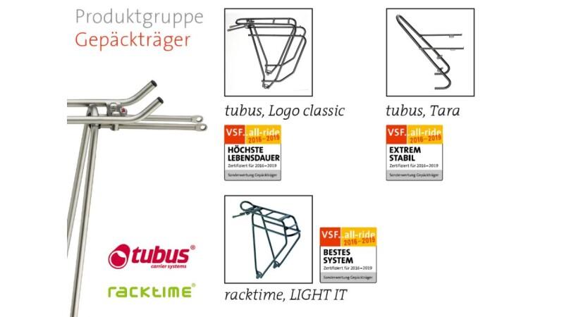 Tubus - Logo classic und Tara