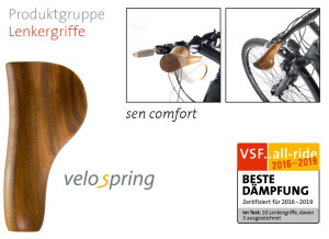 velospring - sen comfort Lenkergriff
