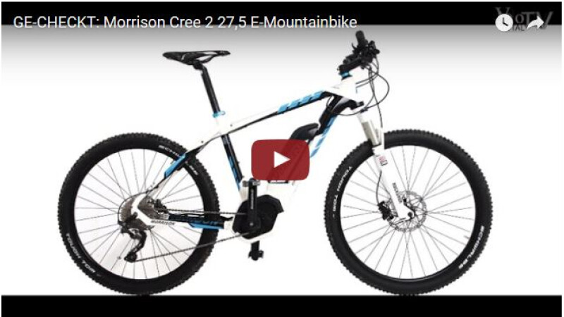 Morrison Cree 2 27,5 E-Mountainbike Ge-Checkt