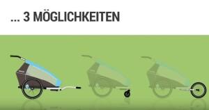 Croozer - Fahrradanhänger, Buggy & Jogger