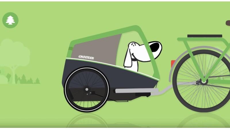 Croozer - Den Hund an den Anhänger gewöhnen