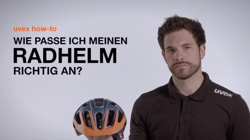 Uvex - Wie passe ich meinen Radhelm richtig an?