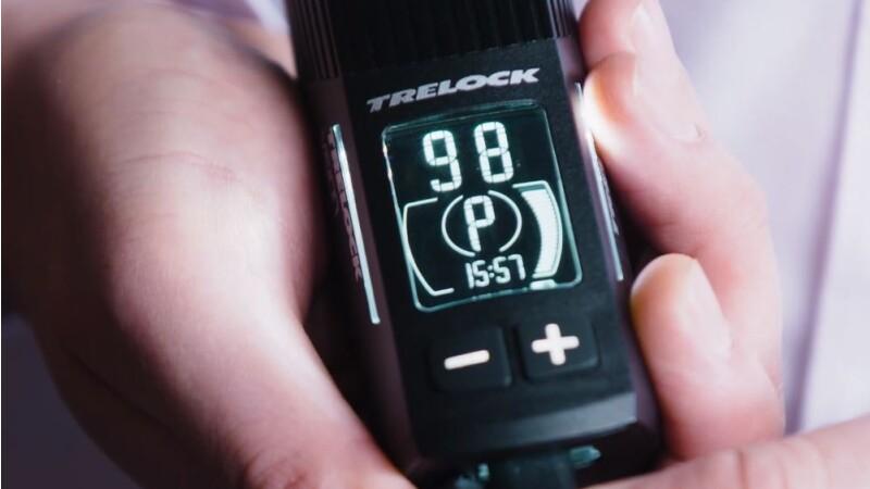 Trelock - Scheinwerfer LS 760 I-GO VISION