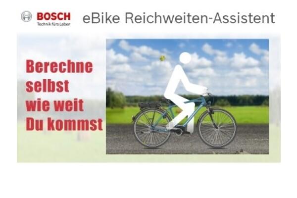 Bosch eBIKE REICHWEITEN-ASSISTENT