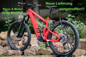 Verfügbarkeit bei Riese&Müller schlägt den Rest