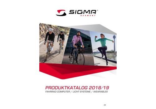 SIGMA - Produktkatalog 2018