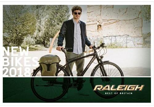 Raleigh - New Bikes 2018
